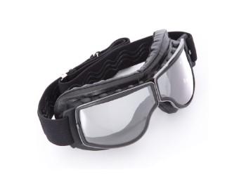 Biker Motorradbrille Boston für Brillenträger geeignet