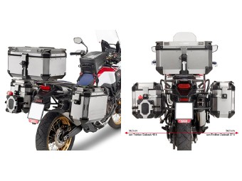 Motorrad Seitenkofferträger für Honda CRF 1000L Africa Twin