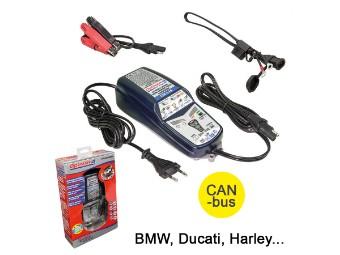 OptiMate 4 TM340 Dual 12V-Batteriepflege Ladegerät CAN-bus BMW/Ducati/Harley...