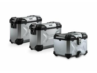 TRAX ADV Adventure Aluminium Kofferset inkl. Topcase für Honda CRF1000L Africa Twin