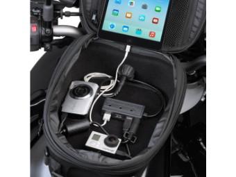 Power USB Hub für Givi Tankrucksäcke