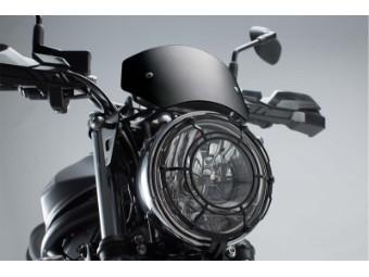 Motorrad Windschild Windabweiser aus Aluminium für Suzuki