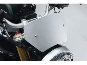 Windabweiser Motorrad Windschild aus Aluminium für BMW