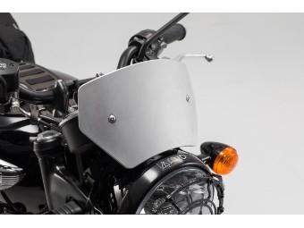 Windabweiser Motorrad Windschild aus Aluminium für Triumph