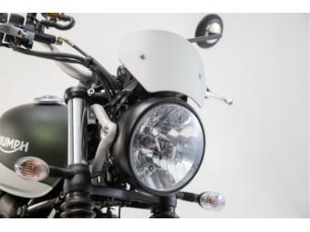 Windschild Motorrad Windabweiser aus Aluminium für Triumph
