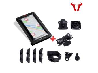 Smartphone Drybag Navigations-Set inkl. Kugel und Klemmarm universell