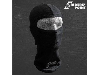 Strumhaube aus 100% Baumwolle mit Panorama Sichtfeld perfekt für Motorrad, Quad, Kart & Ski