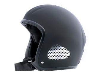 """Kulthelm Leder TITAN Jet-Helm Chopper Harley Open Face """"Leather Edition"""""""