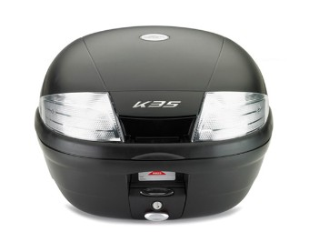 K35NT Monolock Topcase, Kappa, Reflektor klar