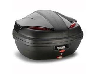 K47NN Monolock Topcase, Kappa, Cover schwarz, Reflektor rot