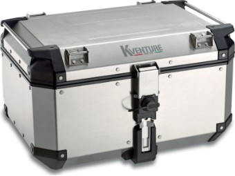 Topcase Koffer KVE58A K-VENTURE Monokey silber Kappa