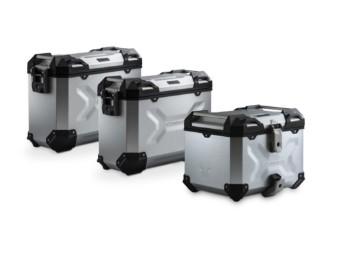 TRAX ADV Adventure Premium Aluminium  Kofferset inkl. Topcase für BMW F 650 GS Twin / F 700 GS / F 800 GS