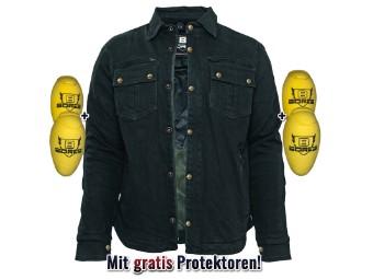 Motorrad Driver Shirt Aramid + Gratis Protektoren