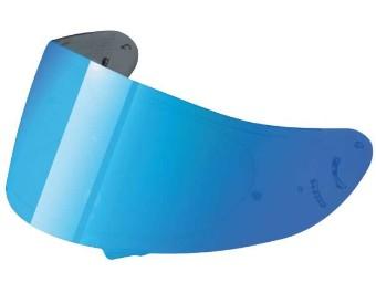 Visier CW-1 blau verspiegelt Helm Visier für X-Spirit 2 / XR-1100 / QWEST