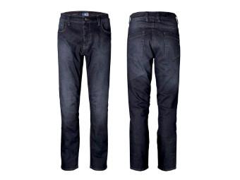 Voyager Short Motorrad Jeans mit kurzem Hosenbein