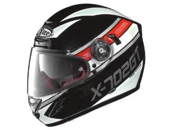Integral Motorrad Helm X-702 GT Chased n-com