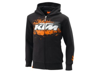 Kids Hold-Out Zip Hood. 116/XS