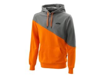 Diagonal Hoodie orange XXL