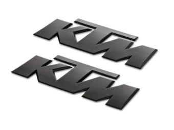 Aufkleber Tank ''ktm'' 3D