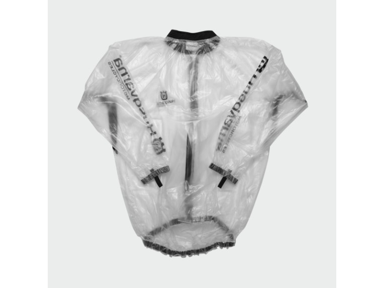 3HS1521702, RAIN JACKET TRANSPARENT S