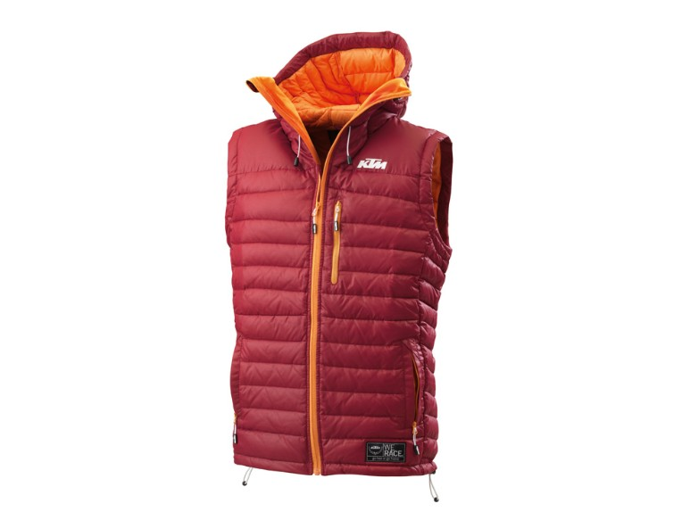 3PW136535, CLEAR DOWNVEST XL