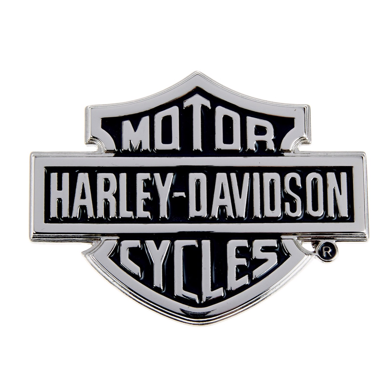 HARLEY-DAVIDSON Herren G/ürtelschnalle Metall H/örner-und Sch/ädeldesign 10,16x7cm