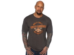 T-Shirt Grunge Coin