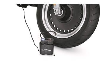 Kompakt-Luftkompressor mit Leuchte