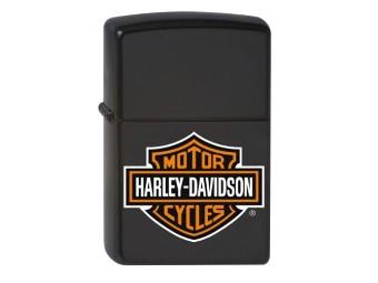 Zippo H-D Bar & Shield Black