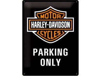 Blechschild Parking Only