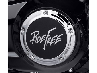 Derby Deckel - Ride Free Kollektion - Softail ab 18