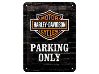 Blechschild Parking Only 2