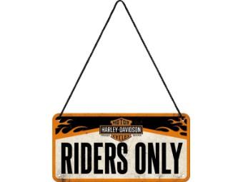 Blechschild Hanging Sign