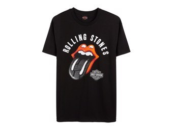 T-Shirt Tire Tread Black - Rolling Stones