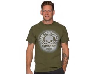 T-Shirt Grunge Racer