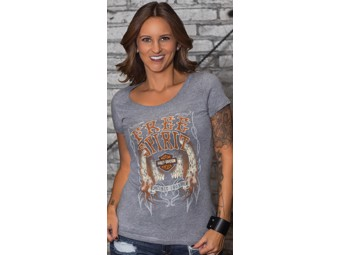 T-Shirt Flame Wings