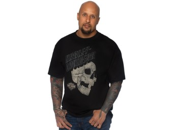 T-Shirt Flying Skull