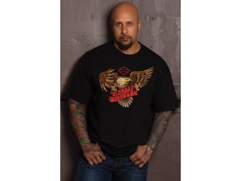 T-Shirt Eagle Flaming