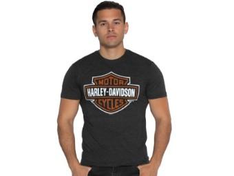 T-Shirt B&S Vintage Black