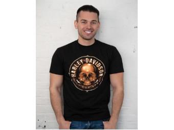 T-Shirt Skull Circle