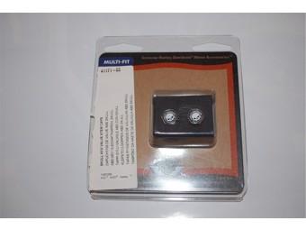Verchromte Ventilschaftkappen aus Kunststoff (ABS)