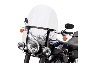 Detachables King-Size Windschutzscheibe für FL Softail Modelle - 00 - 17