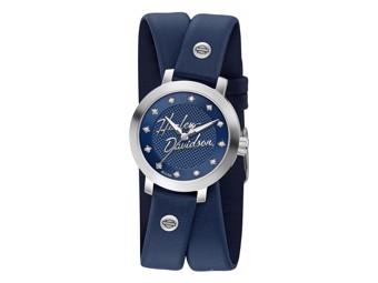 Armbanduhr Swarovski Blue