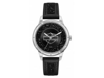 Uhr Black Bar & Shield