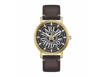Armbanduhr Gold Stainless Steel