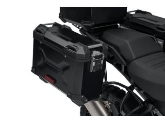 Aluminium Seitenkoffer schwarz Pan America