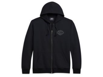 Sweatjacke B&S Grey