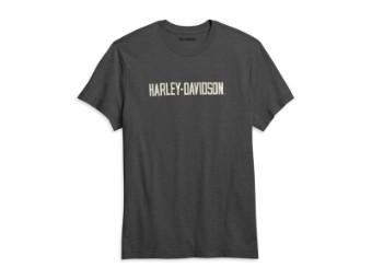 T-Shirt Schriftzug Harley-Davidson
