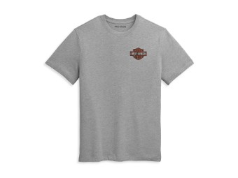 T-Shirt Double Bar & Shield Logo