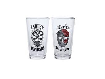 Gläser-Set Skull